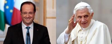Démission du pape: Guéant regrette une «blague déplacée» de Hollande