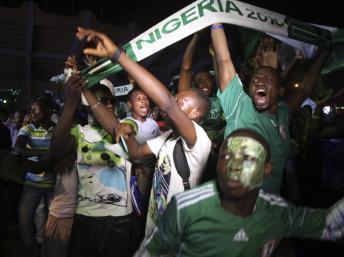 Nigeria: retour triomphal des Super Eagles à Abuja