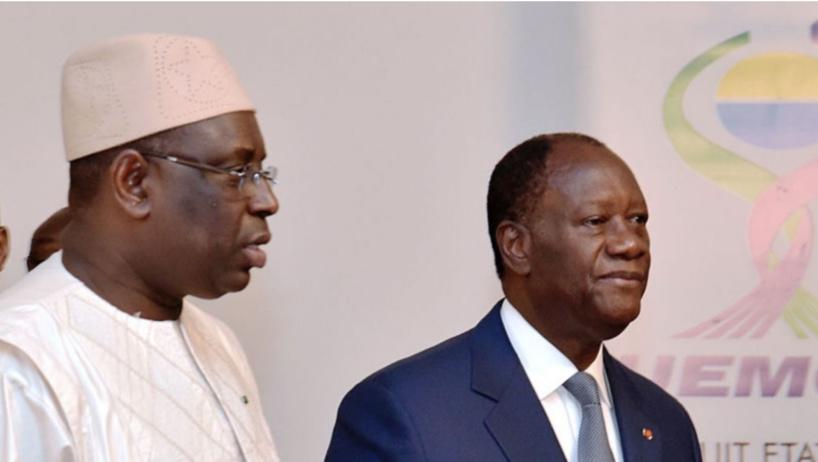 Macky Sall attendu à Abidjan pour assister à la prestation de serment de Ouattara pour un 3e mandat