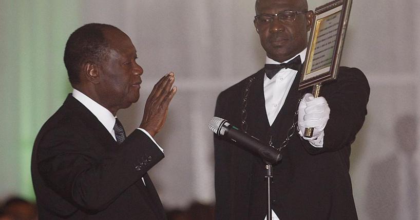 """Côte d'Ivoire : nouvellement investi, le président Ouattara """"invite"""" l'opposition au """"dialogue"""""""