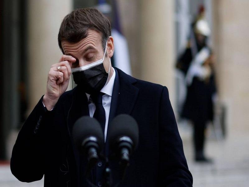 Emmanuel Macron diagnostiqué positif au Covid-19