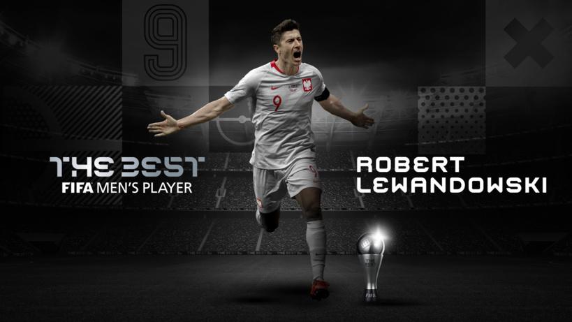 #FifaTheBest: Lewandowski, élu joueur de l'année 2020