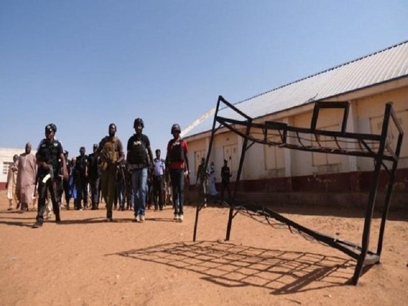 340 enfants de l'école secondaire de Kankara libérés