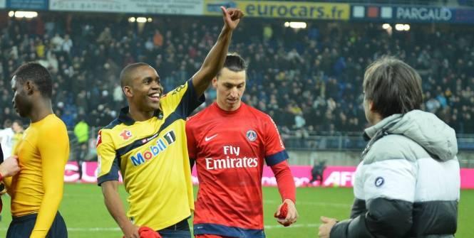 A Sochaux, Zlatan Ibrahimovic est totalement passé à côté. Comme contre Ajaccio, Lille ou encore Valence... (L'Equipe)