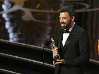 Ben Affleck a reçu l'Oscar du meilleur film pour «Argo». Reuters / Anzuoni