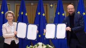 Accord post-Brexit: les dirigeants de l'UE ont signé le texte
