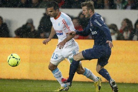 Jérémy Morel et David Beckham vont se retrouver mercredi soir. (Reuters)