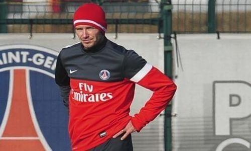 """PSG-Beckham: """"je continuerai à jouer.."""""""