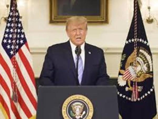 «Scandalisé» par les violences au Capitole, Trump appelle à la «réconciliation»