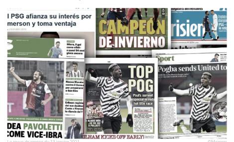 Pogba met United et l'Angleterre à ses pieds, l'AC Milan a trouvé la doublure de Ibrahimovic