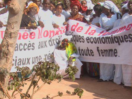 Un pan d'excellence de la journée de la femme 2012