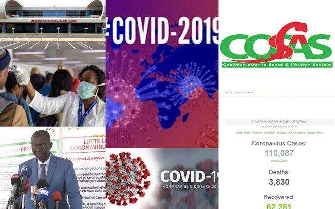Gestion Covid19 Sénégal: la Cosas liste les défaillances et propose des solutions