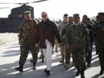 Chuck Hagel à Kaboul en mars 2013.