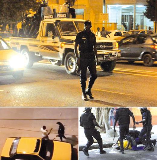 Violation du couvre-feu: 80 personnes déférées au parquet, plus de 3 millions FCFA amassés
