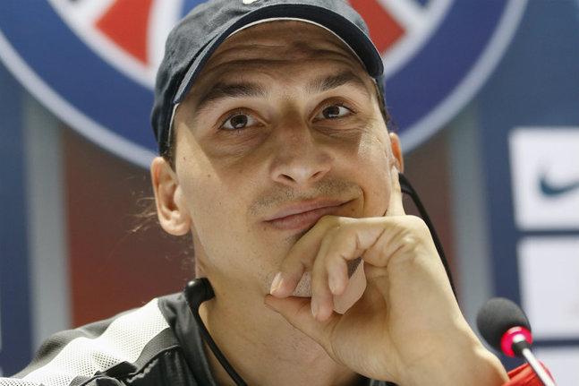 Les propos de Zlatan Ibrahimovic sur le passé du PSG ne sont pas passé inaperçus. (Reuters)