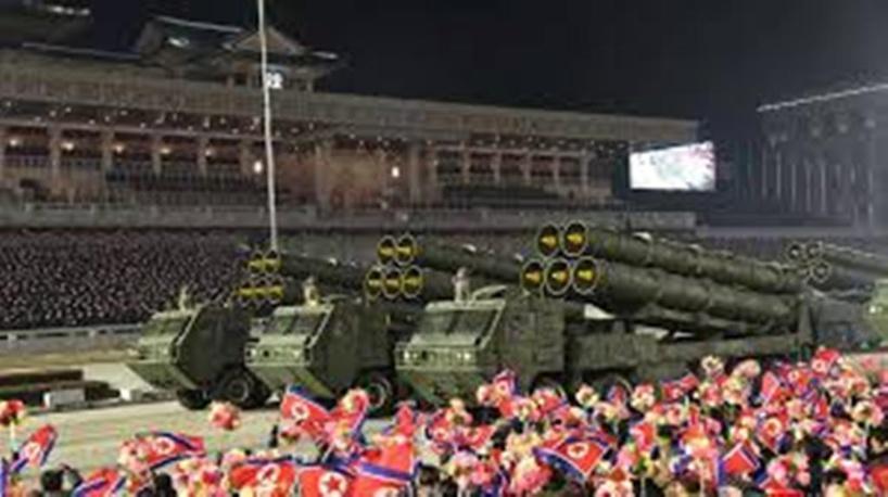Corée du Nord: parade militaire avec un missile balistique avant l'investiture de Biden