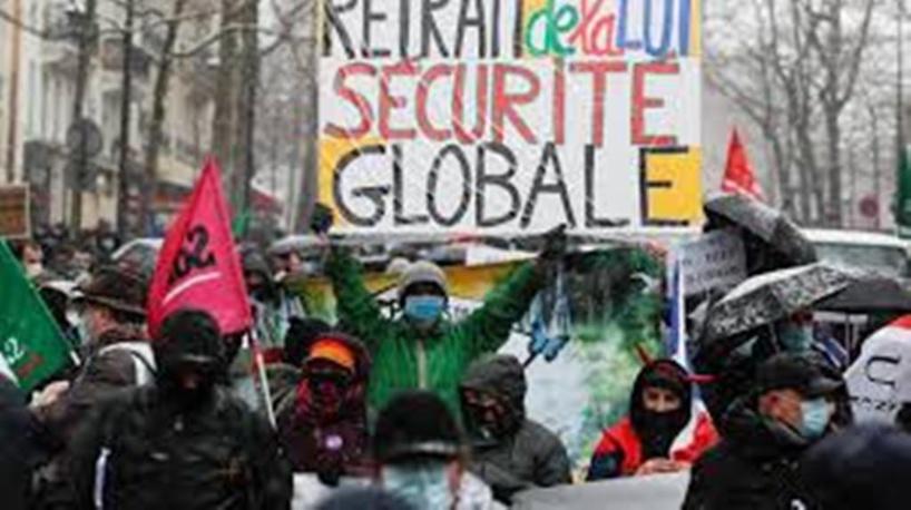 France: des manifestations contre la loi «sécurité globale» dans tout le pays