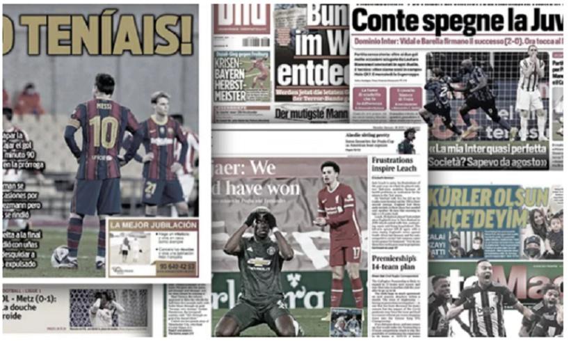 La chute du Barça fait grand bruit, l'aveu d'impuissance de Klopp
