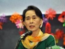 Aung San Suu Kyi, Séoul, le 1er février 2013.