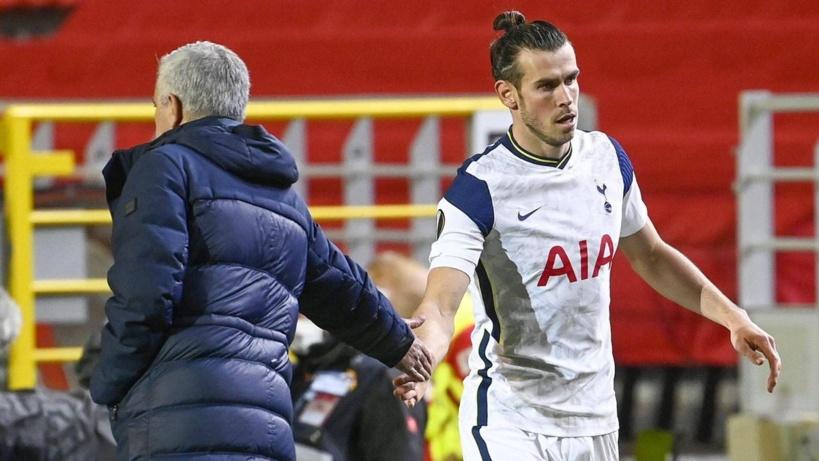 Tottenham: José Mourinho perd patience avec Gareth Bale