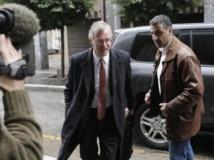 Le représentant du FMI, Bob Traa, à son arrivée au ministère des Finances à Athènes, le 3 mars 2013.