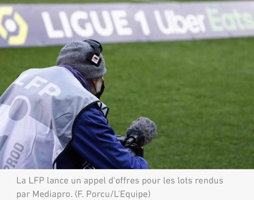 Droits télé Ligue 1-Ligue 2 : la LFP lance son appel d'offres