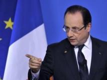 François Hollande insiste pour que l'Europe arme les rebelles syriens