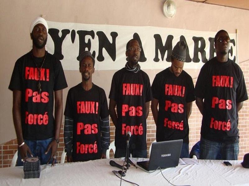Les FDS/Les Guelwaars, Frapp-France Dégage et Y'en a Marre exigent la libération immédiate de Boubacar Sèye