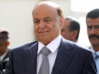 Le président duYémen Abd-Rabbu Mansour Hadi