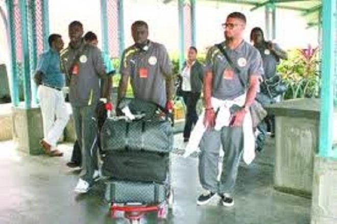 Les Lions attendus ce mardi à Conakry