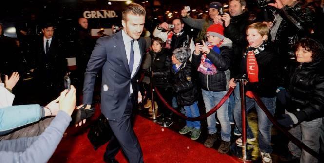 Avec 36 millions d'euros de revenus annuels, David Beckham est le footballeur le mieux payé au monde. (L'Equipe)
