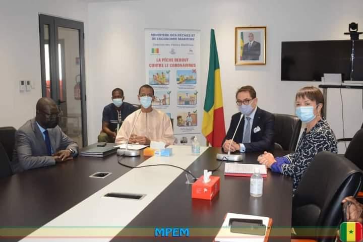 Plateforme portuaire : le ministre Alioune Ndoye signe un protocole d'accord avec la Belgique