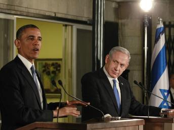 En Israël, Barack Obama affiche sa fermeté vis-à-vis de l'Iran