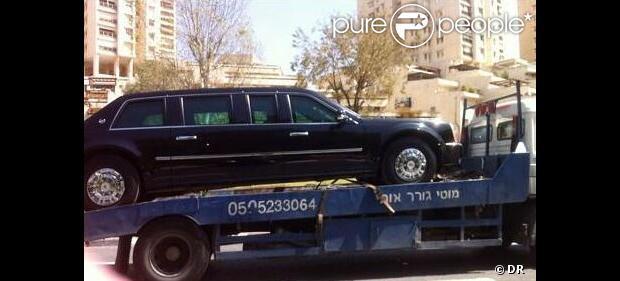 Barack Obama : En visite en Israël, sa limousine indestructible en panne