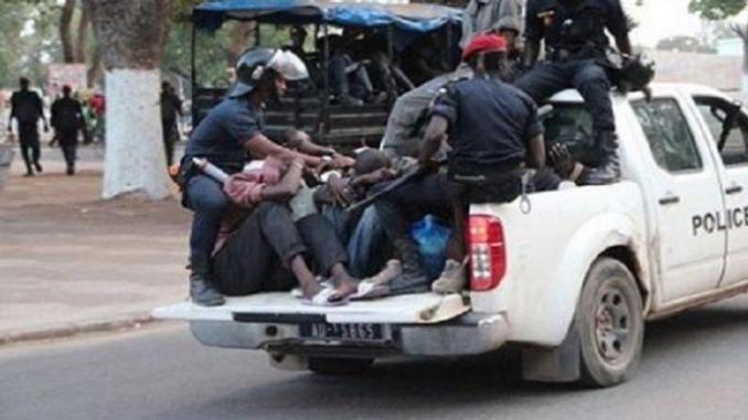 Non port de masque : la Police de Mbacké embarque plusieurs élèves