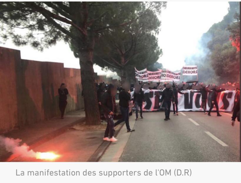 Olympique de Marseille: les supporters en colère assiègent le centre d'entraînement