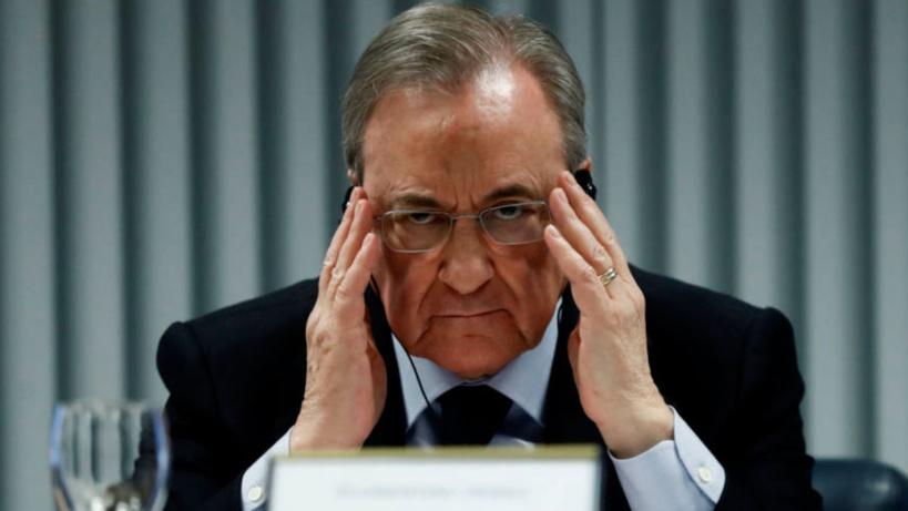 Le président du Real Madrid positif à la Covid-19