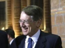 Giulio Terzi a démissionné de son poste de ministre italien des Affaires étrangères, le 26 mars 2013