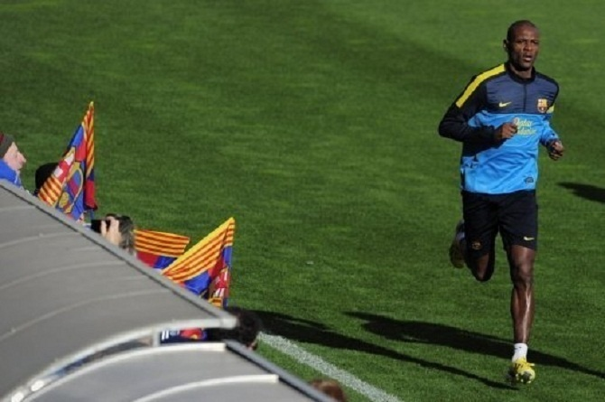 FC Barcelone: retour d'E. Abidal ce samedi?