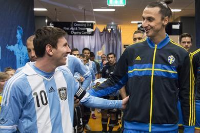 Lionel Messi et Zlatan Ibrahimovic se sont déjà affrontés avec leurs sélections cette saison.