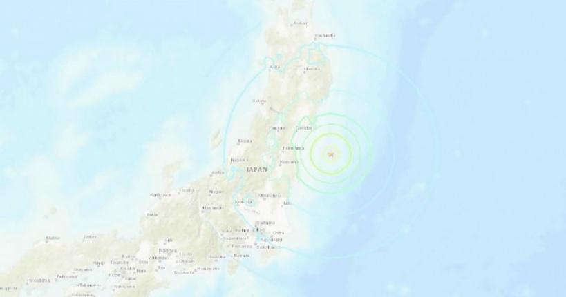 Séisme de magnitude 7 au large du Japon, pas d'alerte au tsunami