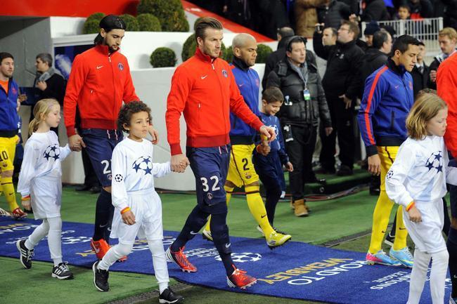 Beckham imposé pour Barça-PSG, Ancelotti en rigole