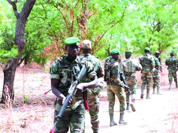 Opérations ratissage Casamance: l'Armée met la main sur documents sensibles laissés par les rebelles