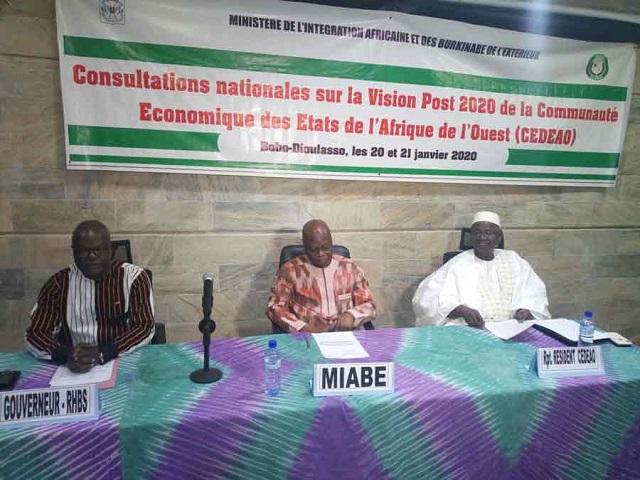Vision Post-2020: la CEDEAO veut une région pacifique et prospère