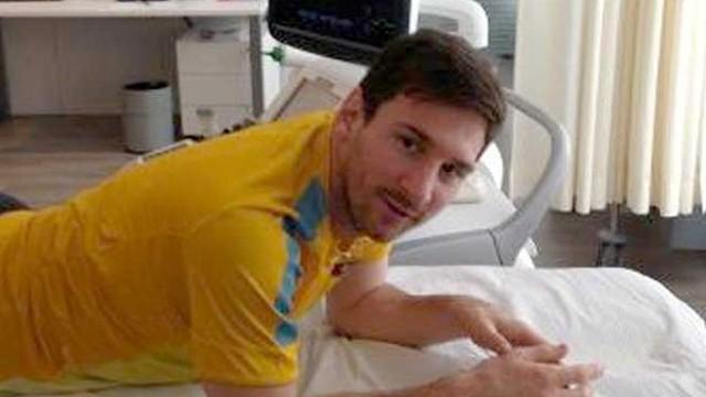 Lionel Messi aurait une chance sur deux de rechuter de sa blessure lors de Barcelone - PSG (Sport)