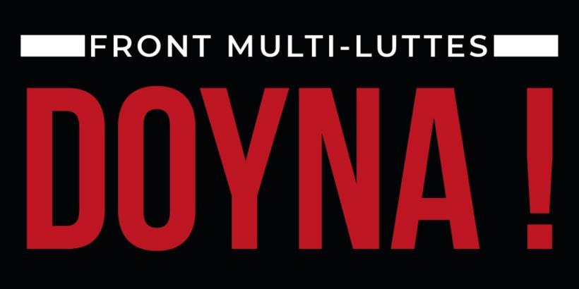 Front multi-lutte ''DOY NA'' engage la lutte pour la satisfaction de leurs revendications
