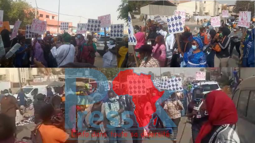 Levée de l'immunité parlementaire de Sonko : Les militantes de Pastef ont manifesté leur colère