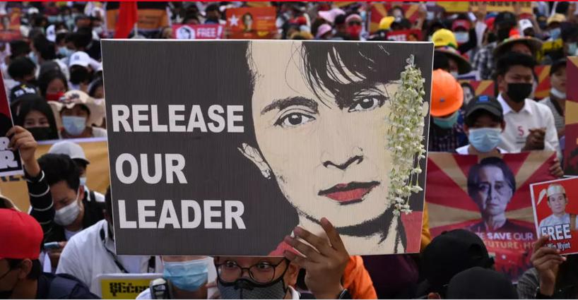 Birmanie: Aung San Suu Kyi inculpée désormais «d'incitation aux troubles publics»