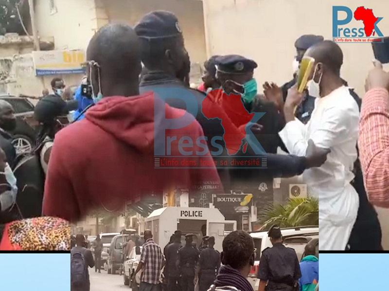Sédhiou : des manifestants pro-Sonko arrêtés ce lundi
