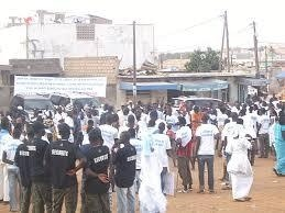 Venus couvrir la manifestation du PDS à Gounass, les journalistes insultés et chassés